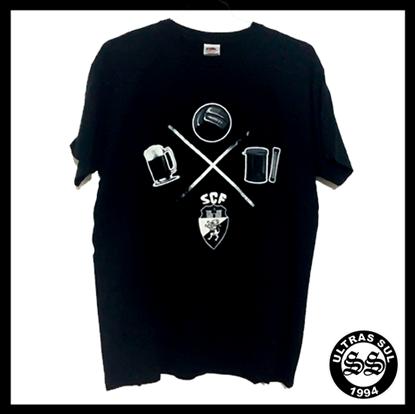 Imagens de T-shirt On Tour | Cinza | 2015/16