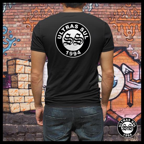 Imagens de T-Shirt Logo SS   Preta   2018